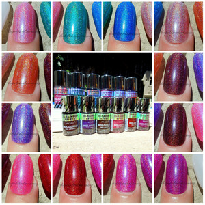check out lots more pics and comparisons on the blog>>http://www.thepolishedmommy.com/2013/06/nabi-hologram-collection.html