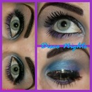 Disco Nights Eye Look