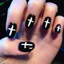 Inverted Cross Nails