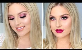 Bold Valentines Makeup Tutorial ♡ Urban Decay One Brand Tutorial