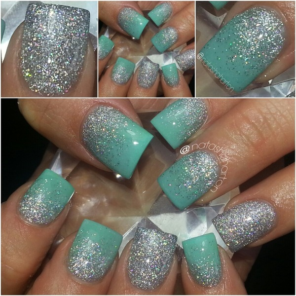 Mint Green Prom Nail: Natasha H.'s (natashaharton) Photo