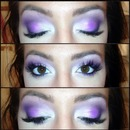 PURPLE smokey eye 😍💜