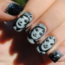 50'S/60'S Women Ispired Nail Art