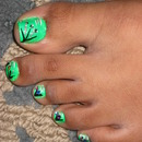 Green Toes !