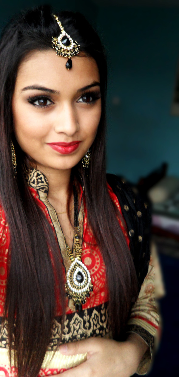 Traditional Bangladeshi inspired look, if you want to know ...