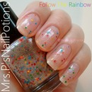 Mrs.P's Nail Potions - Follow The Rainbow