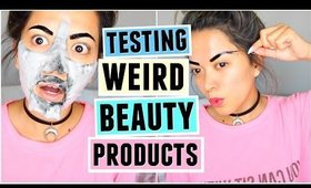 TESTING WEIRD BEAUTY PRODUCTS! AGAIN!