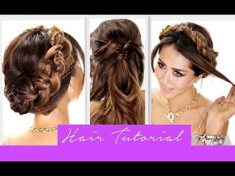 ★3 amazingly easy backtoschool hairstyles  how to cute