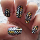Coulourful Arrow Mani!
