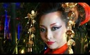 Bewitching Oiran / Kimono Look - Improv Makeup & Hair Tutorial