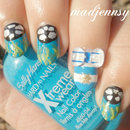 World Cup 2014 Argentina Nail Art