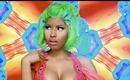 "Makeup Tutorial: Nicki Minaj ""Starships"" Music Video Inspired"