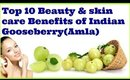 Top 10 Beauty & skin care Benefits of Indian Gooseberry(Amla)