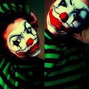 Something between a Mime and a Clown..