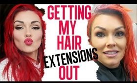My Hair Story: Getting My Extensions Out