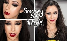 Glam Smokey Eye Makeup Tutorial|| Ft. UD x Gwen Stefani Palette || Valentine's Day Look