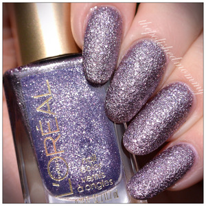 Swatches and review on the blog: http://www.thepolishedmommy.com/2014/01/loreal-diamond-in-the-rough.html  #loreal #purchasedbyme