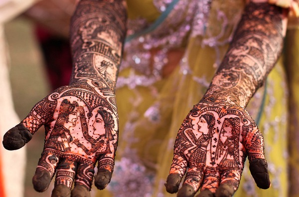 indian bridal henna beautylish