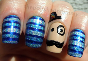 Today is World Diabetes Day and since it's still Movember I dedicate today's mani to my Grandfather... http://www.thepolishedmommy.com/2012/11/dapper-in-blue.htmlhttp://www.thepolishedmommy.com/2012/11/dapper-in-blue.html