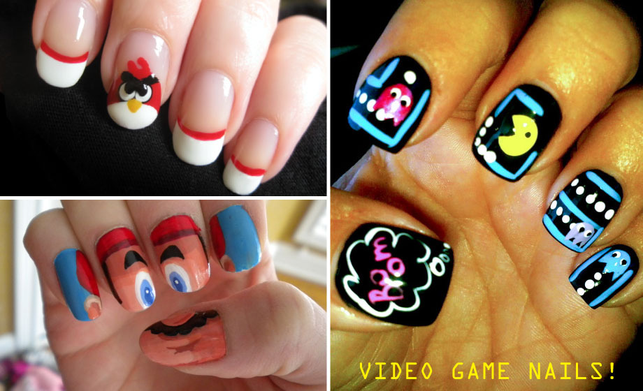 Spaceships and Spice: Video Game Manicures