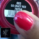 China Glaze: Go Crazy Red
