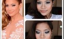 J.Lo Golden Globes Makeup 2013