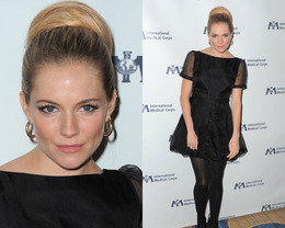 Sienna Miller Makeup, International Medical Corps Annual Awards
