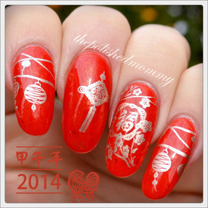http://www.thepolishedmommy.com/2014/01/2014-year-of-the-horse.html  #revlon #essie #loreal #bundlemonster #chinesenewyear #yearofthehorse