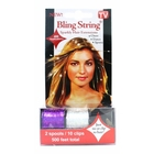 Bling String 500' Hair Tinsel with Clips - Hologram Silver/Purple