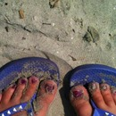 The Beach Always Makes a good pedi look better
