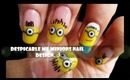 Despicable Me Minion Nail design.