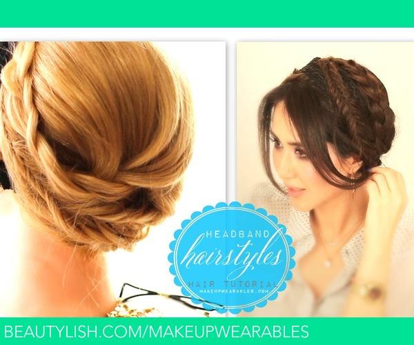 DIY Cute 3 Braids Wrap-Around Hairstyle   hair Tutorial Video   Tina ...