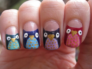 Owltastic nails