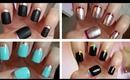 Ruffian Manicure!!! Four Easy Designs ♥