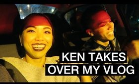 VLOG: KEN TAKES OVER MY VLOG! | yummiebitez