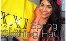 Spring 2013 Clothing Haul! ✿ Fashion Show Included;)