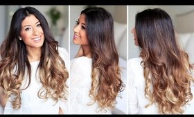 How to Curl Your Hair in 2 Minutes | Luxy Hair