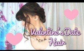 Valentine's Day Romantic Date Hair
