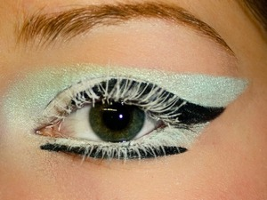 geometry/ice inspired eye