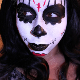 The Apparition Inspired Makeup