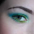FOTD: Spring Greens and Blues