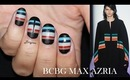 New York Fashion Week 2014 Nail Design BCBGMAXAZRIA