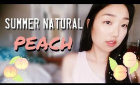 GRWM | Summer Natural Peach