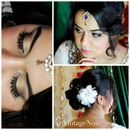 Indian style makeup