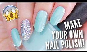 REAL DIY NAIL POLISH! | Make High Quality Nail Polish At Home!