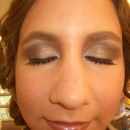 Downward set eye Makeup