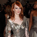 Karen Elson at the 2011 MET gala (Source: modelinia.com)