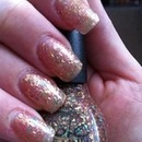 Nicole by OPI A gold winters night