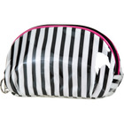 ULTA Black & White Stripe Cosmetic Bag