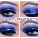 Royal Blue & Silver